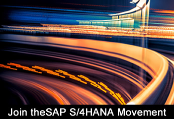 Join the SAP S/4HANA Movement