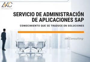 AK Consulting Administración de Aplicaciones SAP