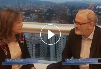 Entrevista Dr. Alexander Zeier, Chief Technology Officer del SAP Bussiness Group en Accenture.